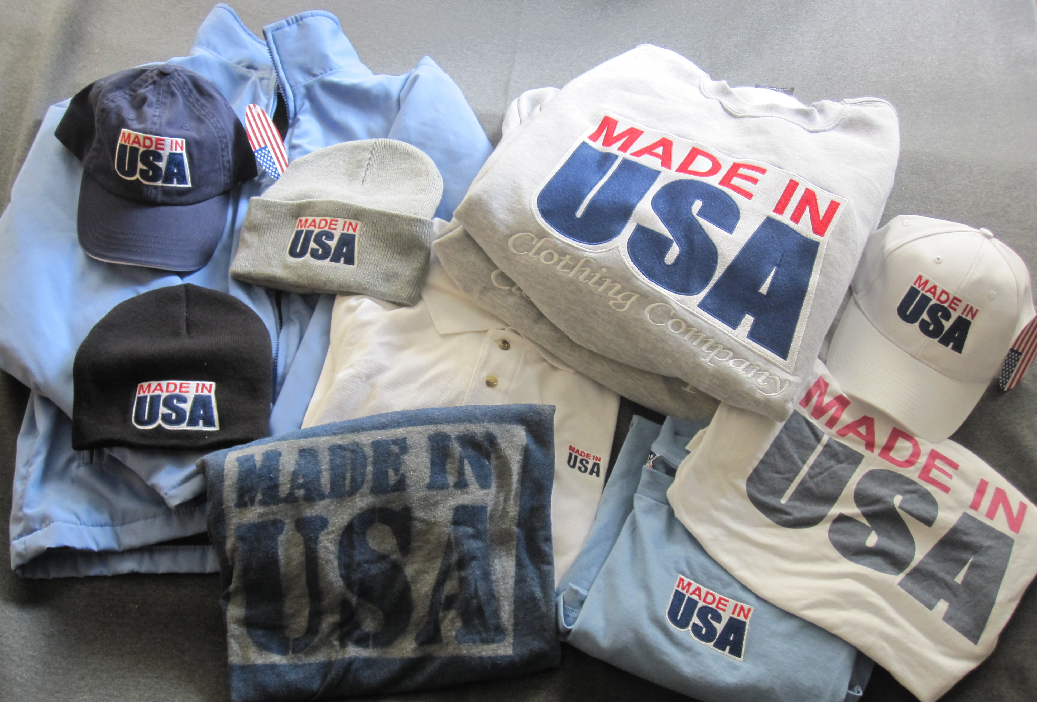 42 Clothing Brands That Are Still Made in America. By Every step of the manufacturing and supply process is all-American at Goodwear USA, a domestic clothing brand known for high-quality, lightweight shirts and sweatshirts for men and women. The cotton the .